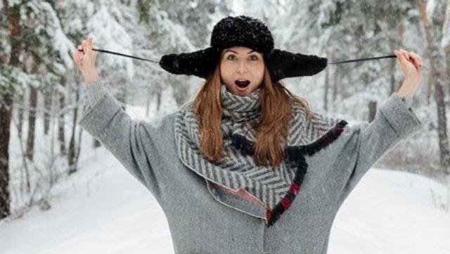 Зимой без шапки не обойтись