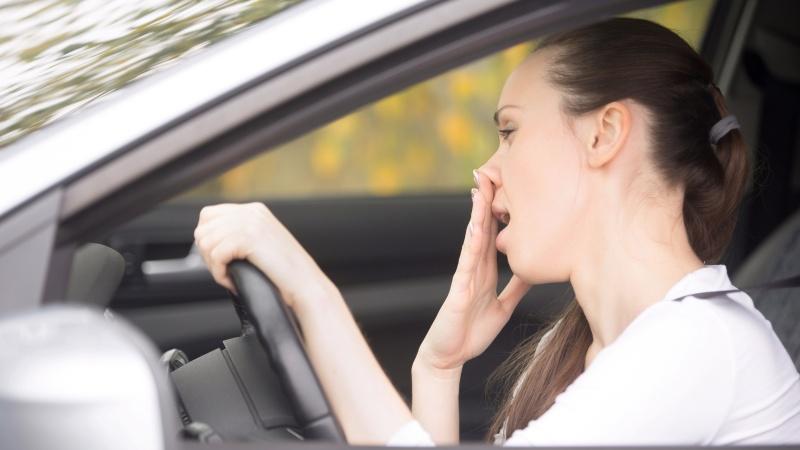 Большой процент аварий - на совести невыспавшихся водителей