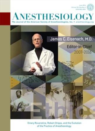 Журнал Anesthesiology