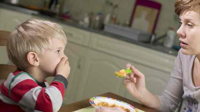 Не кормите ребенка насильно