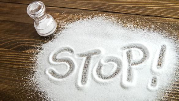 С возрастом нужно уменьшать количество потребляемой соли