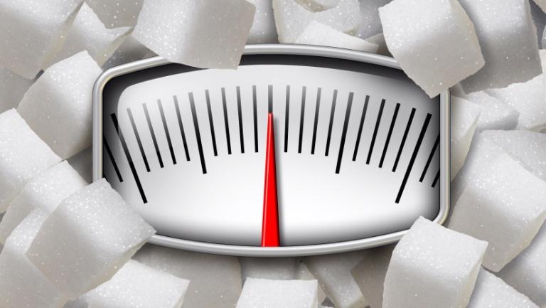 Уже через месяц сахарной диеты вы увидите изменения на весах