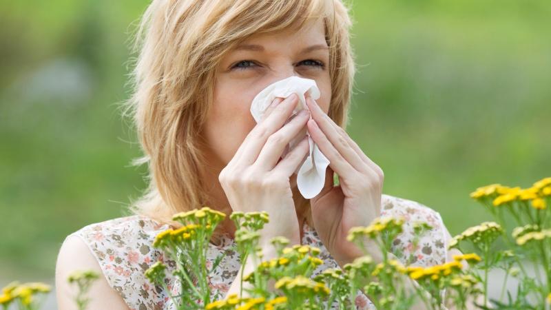 Сезонная аллергия доставляет немалый дискомфорт