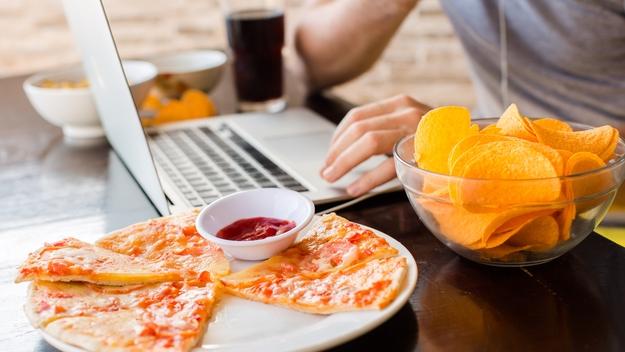 Важно концентрироваться исключительно на еде