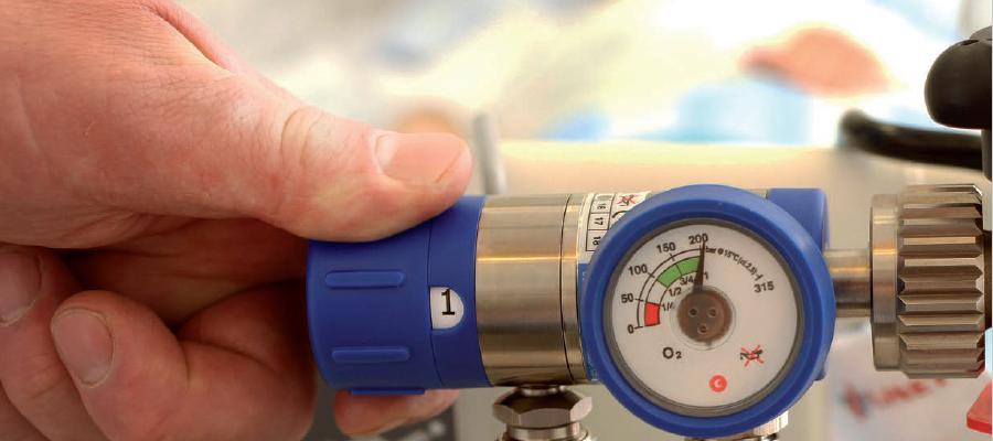 Баллонные регуляторы давления для медицинских газов