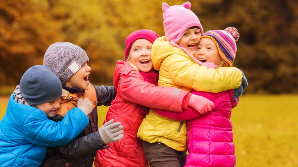 В детской компании отрабатывается навык взаимоотношений с окружающими