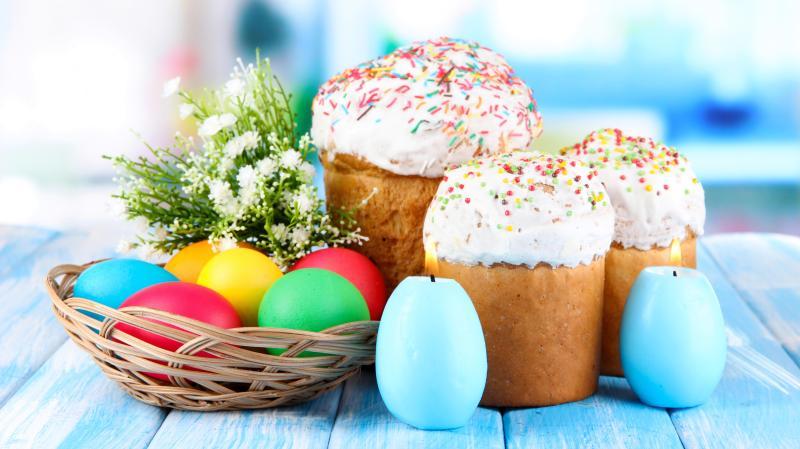 Пасха - любимый праздник детей и взрослых