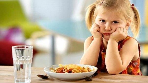 Плохой аппетит или отказ от еды может быть сигналом о психологических проблемах у ребенка