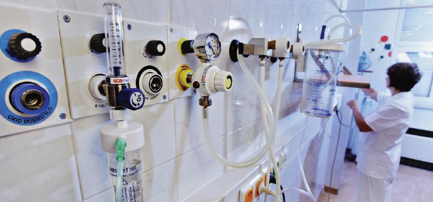 Регуляторы давления и расхода медицинских газов