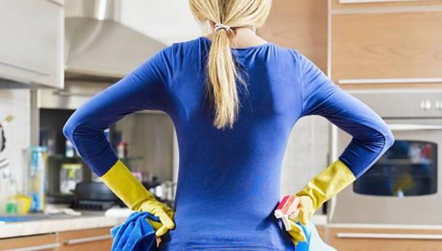 Кухня - наиболее загрязняемая зона