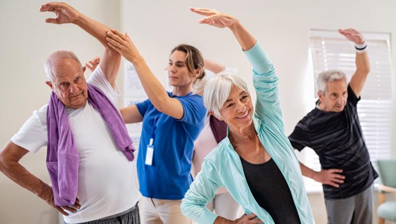 Физическая активность полезна в любом возрасте