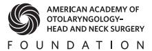 Otolaryngology–Head and Neck Surgery