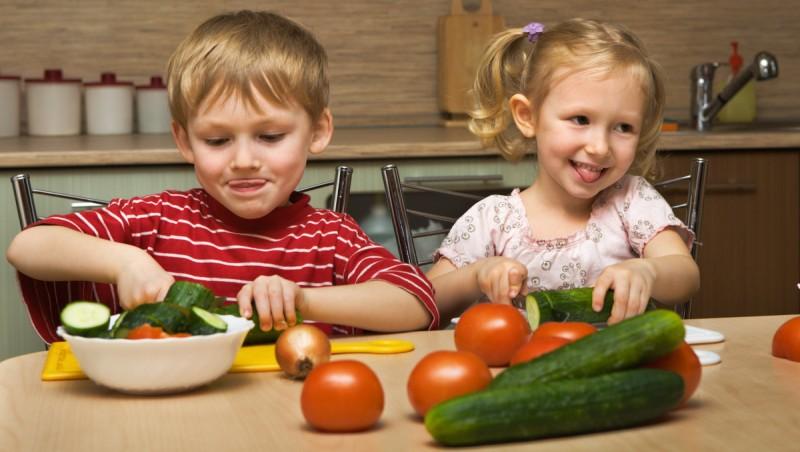 Пусть на столе всегда будут овощи