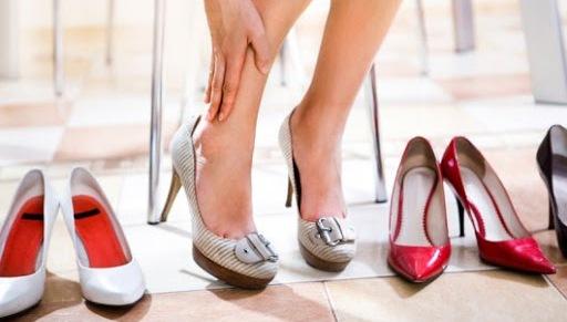 Обувь на высоком каблуке не подходит для ежедневного ношения
